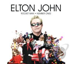 John, Elton - Rocket Man: Number Ones CD Cover Art