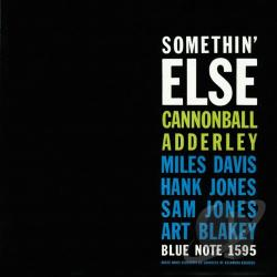 Adderley, Cannonball - Somethin' Else CD Cover Art