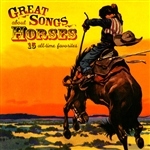 Great Songs About Horses CD Cover Art