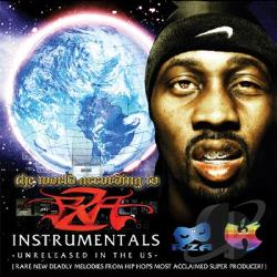 Rza - World According to RZA: Instrumentals CD Cover Art