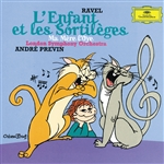 Lso / Previn / Ravel - Ravel: L'enfant et Sortileges; Mother Goose Ballet CD Cover Art