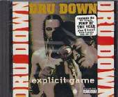 Down, Dru - Explicit Game CD Cover Art