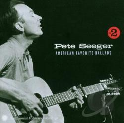 Seeger, Pete - American Favorite Ballads, Vol. 2 CD Cover Art