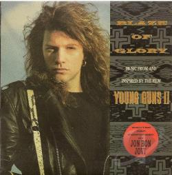 Bon Jovi, Jon - Blaze Of Glory CD Cover Art