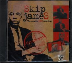 James, Skip - Complete 1931 Recordings CD Cover Art