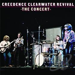Creedence Clearwater Revival - Concert CD Cover Art