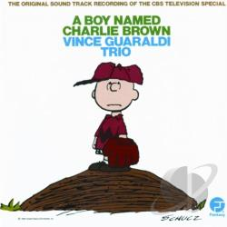 Guaraldi, Vince / Vince Guaraldi Trio - Boy Named Charlie Brown CD Cover Art