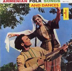 Armenian Ensemble - Armenian Songs & Dances CD Cover Art