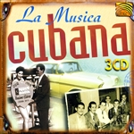 La Musica Cubana CD Cover Art