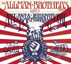 Allman Brothers Band - Live at the Atlanta International Pop Festival: July 3 & 5, 1970 CD Cover Art