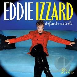 Izzard, Eddie - Definite Article CD Cover Art