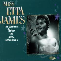 James, Etta - Complete Modern and Kent Recordings CD Cover Art
