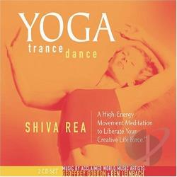 Go, Geoffrey / Rea, Shiva - Yoga Trance Dance CD Cover Art