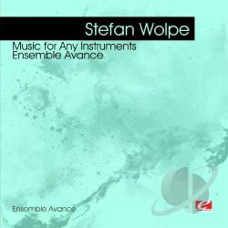 Wolpe, Stefan - Wolpe: Music For Any Instruments CD Cover Art