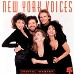 New York Voices - New York Voices CD Cover Art