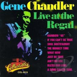 Chandler, Gene - Live at the Regal CD Cover Art