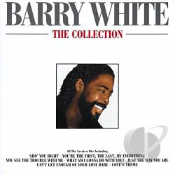 White, Barry - Collection CD Cover Art