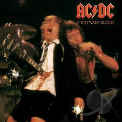AC/DC - If You Want Blood You've Got It CD Cover Art