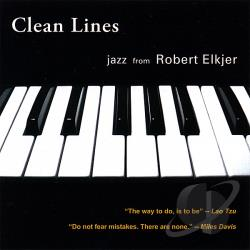 Elkjer, Robert - Clean Lines CD Cover Art