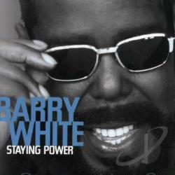 White, Barry - Staying Power CD Cover Art