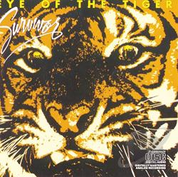 Survivor - Eye Of The Tiger CD Cover Art