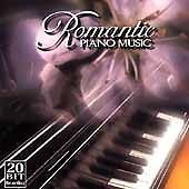 Various Artists - PIANO - Romantic Piano Music Vol 1 CD Cover Art