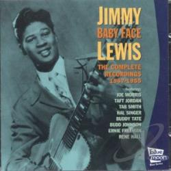 Jimmy Lewis (Guitar) - Complete 1947-1955 CD Cover Art