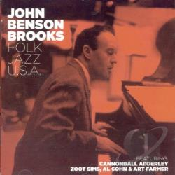 Brooks, John Benson - Folk Jazz U.S.A./Alabama Concerto CD Cover Art