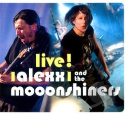 Alexx & The Mooonshiners - Live ! CD Cover Art