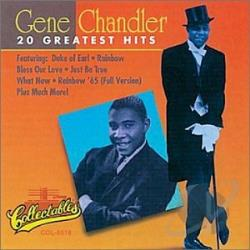 Chandler, Gene - Greatest Hits CD Cover Art