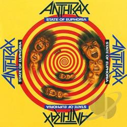 Anthrax - State of Euphoria CD Cover Art