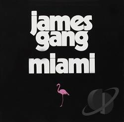 James Gang - Miami CD Cover Art