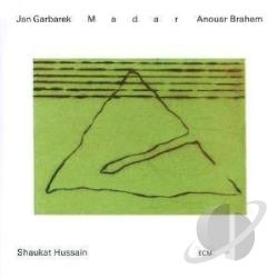 Brahem, Anouar / Garbarek, Jan / Shaukat Hussain - Madar CD Cover Art