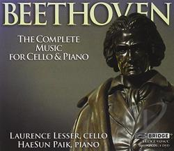 Beethoven, Ludwig Van - Beethoven: The Complete Music for Cello & Piano CD Cover Art