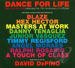 Dance For Life: West End Records Celebrates The 10th Anniversary Of Lifebeat CD Cover Art
