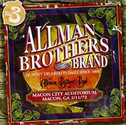 Allman Brothers Band - Macon City Auditorium: 2/11/72 CD Cover Art