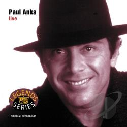 Anka, Paul - Live CD Cover Art