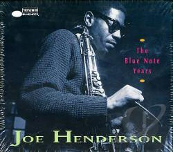 Henderson, Joe - Joe Henderson:Blue Note Years CD Cover Art