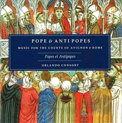 Orlando Consort - Popes & Antipopes CD Cover Art