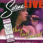Selena - Selena Live-The Last Concert CD Cover Art