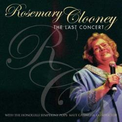 Clooney, Rosemary - Last Concert CD Cover Art