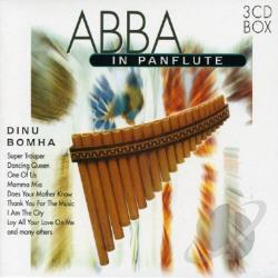 Bomha, Dinu - ABBA in Panflute CD Cover Art