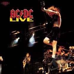 AC/DC - Live LP Cover Art