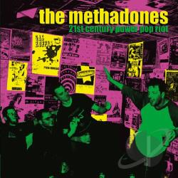 Methadones - 21st Century Power Pop Riot CD Cover Art