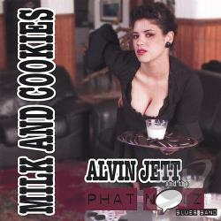 Jett, Alvin & The Phat Noiz Blues Band - Milk & Cookies CD Cover Art