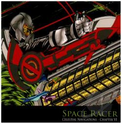 Celestial Navigations - Chapter VI: The Space Racer CD Cover Art