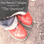 Peter Benedict Gallagher - Gallagher: Symphony No. 2, The Question DB Cover Art
