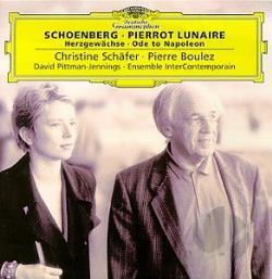 Boulez / Pittman-Jennings / Schaefer / Schoenberg - Schoenberg: Pierrot Lunaire CD Cover Art