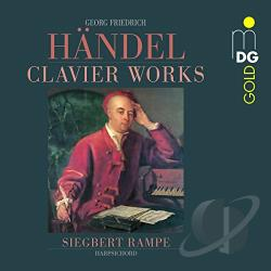 Handel / Rampe - Handel: Clavier Works CD Cover Art