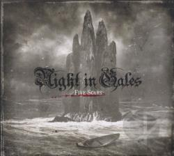 Night In Gales - Five Scars CD Cover Art